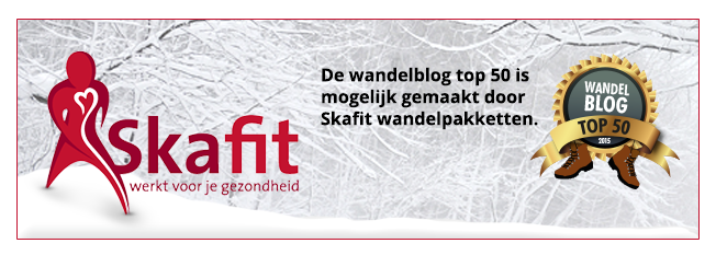 TOP 50 Wandelblogs Nederland en België 2015